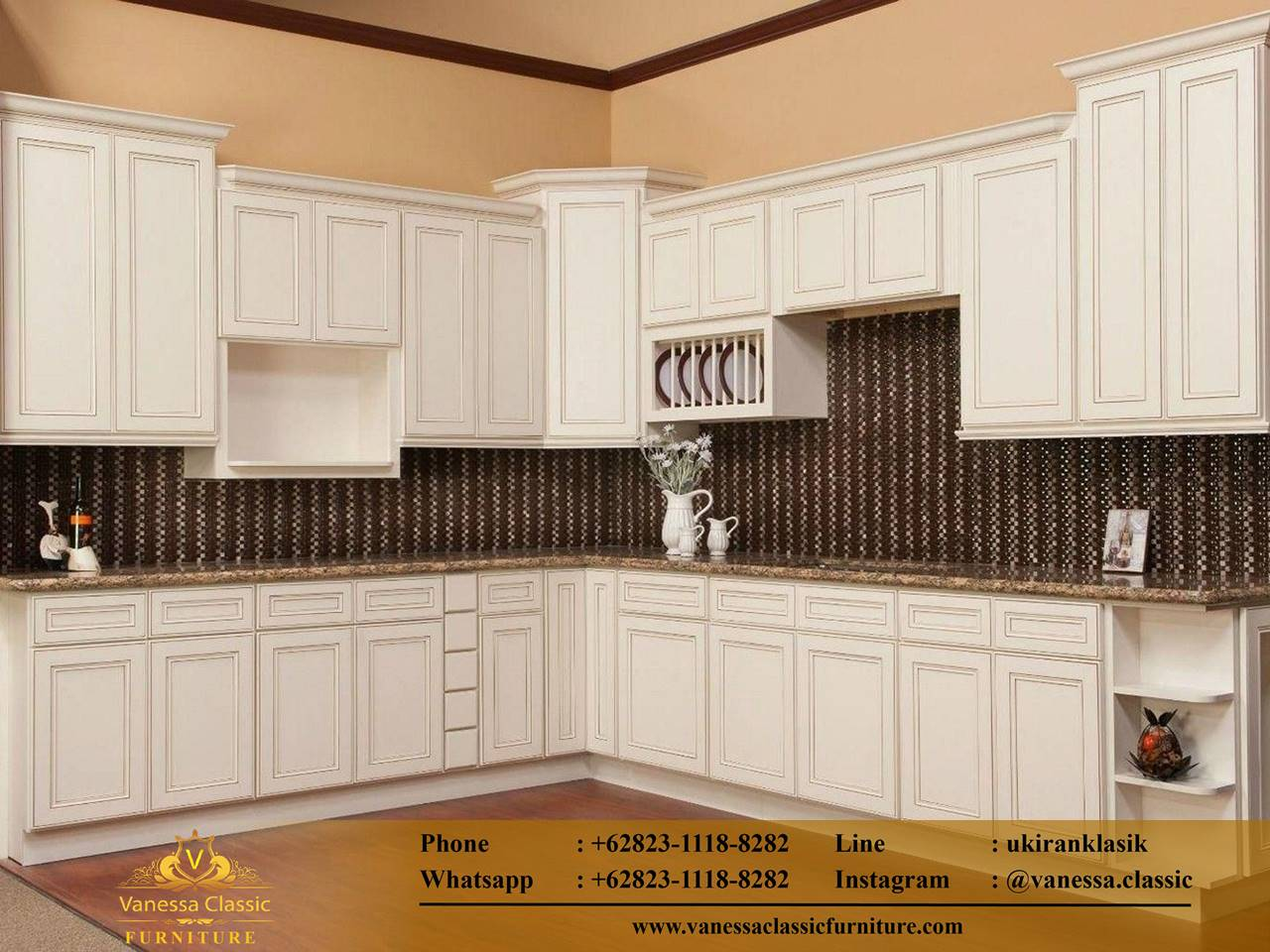 Kitchen Set Custom Marmer