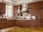 Kitchen Set Jati Asli Finishing Natural